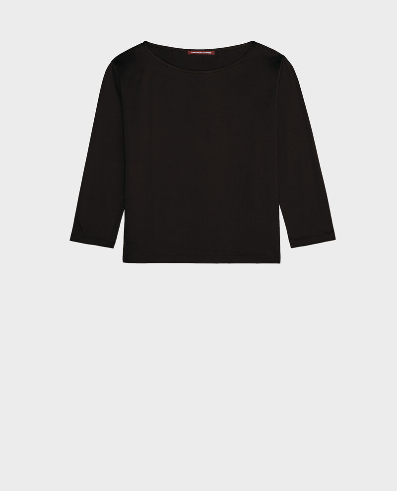T-shirt en coton égyptien Black beauty Lotel