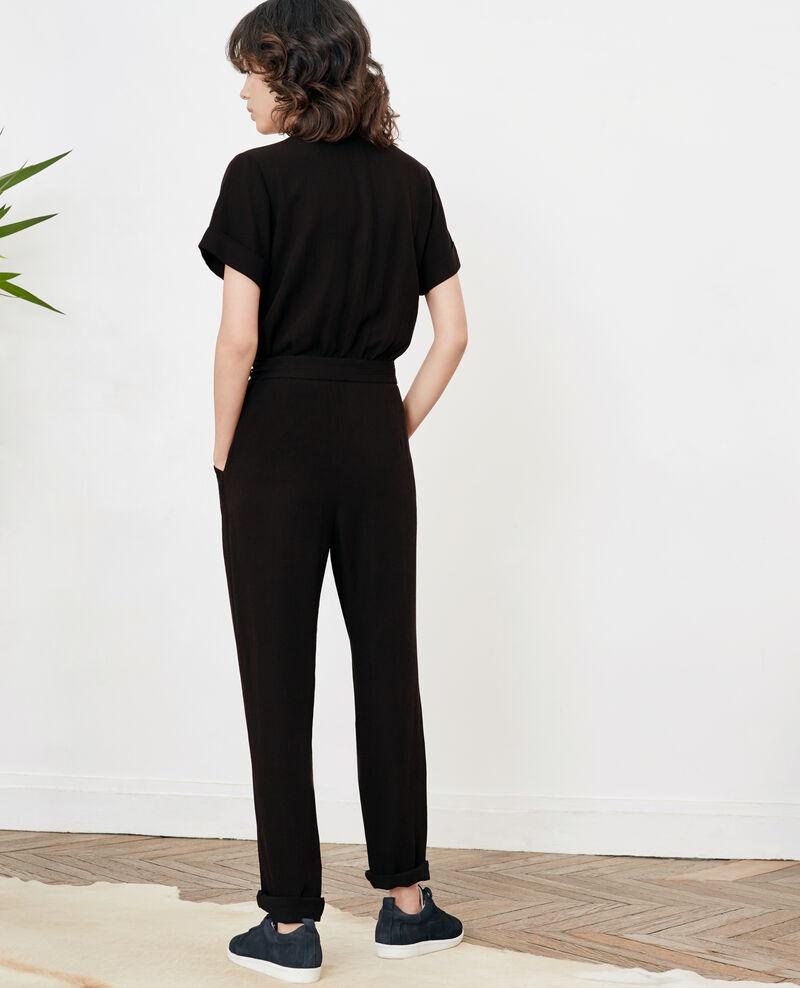 Combi-pantalon Noir Facination