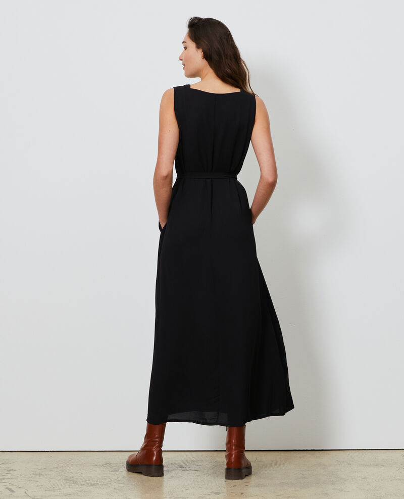 Robe longue Black beauty Lalonde