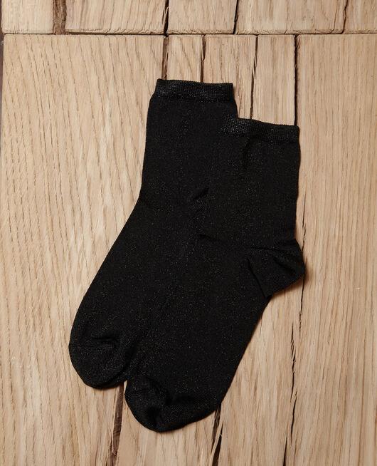 Chaussettes avec lurex NOIR