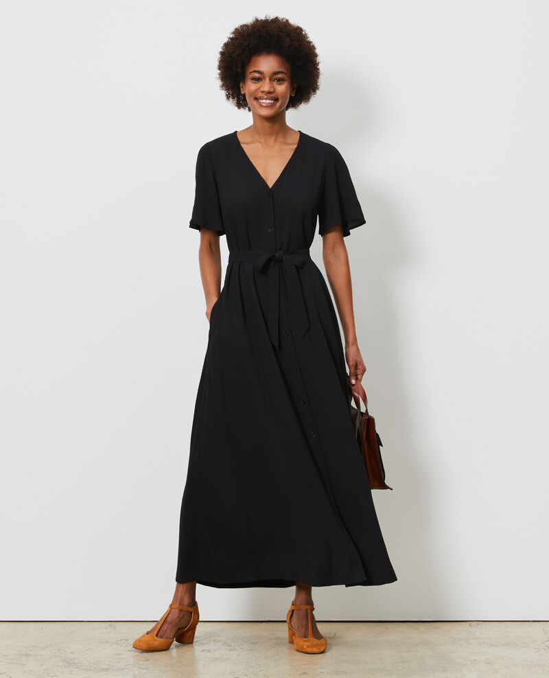 Robe longue Black beauty Lavish