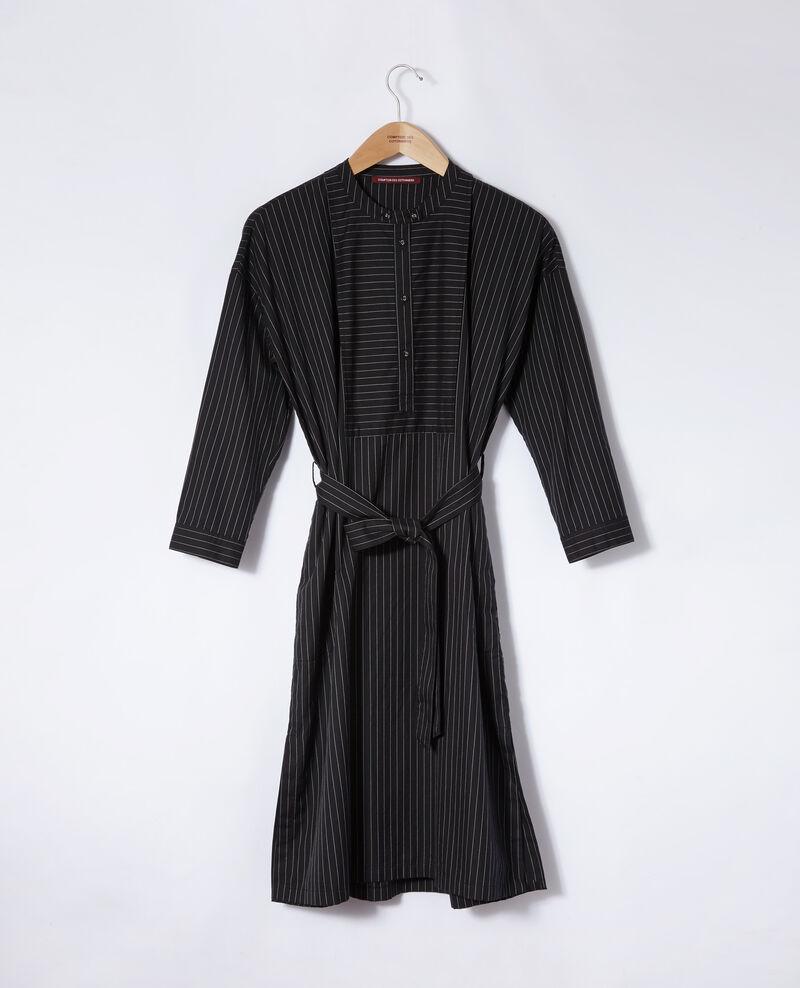 Robe col rond Noir Gerronce