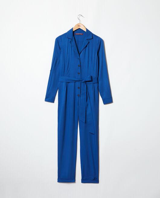 Combinaison col chemise IMPERIAL BLUE