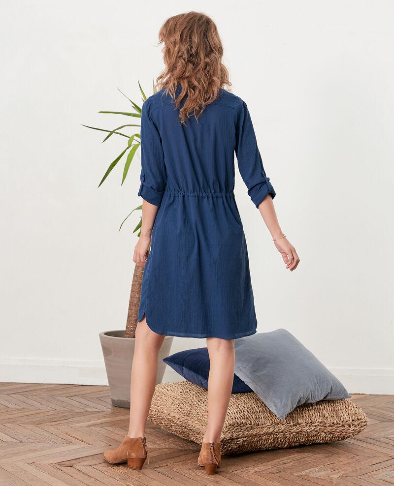 Robe tunique Indigo Feographie