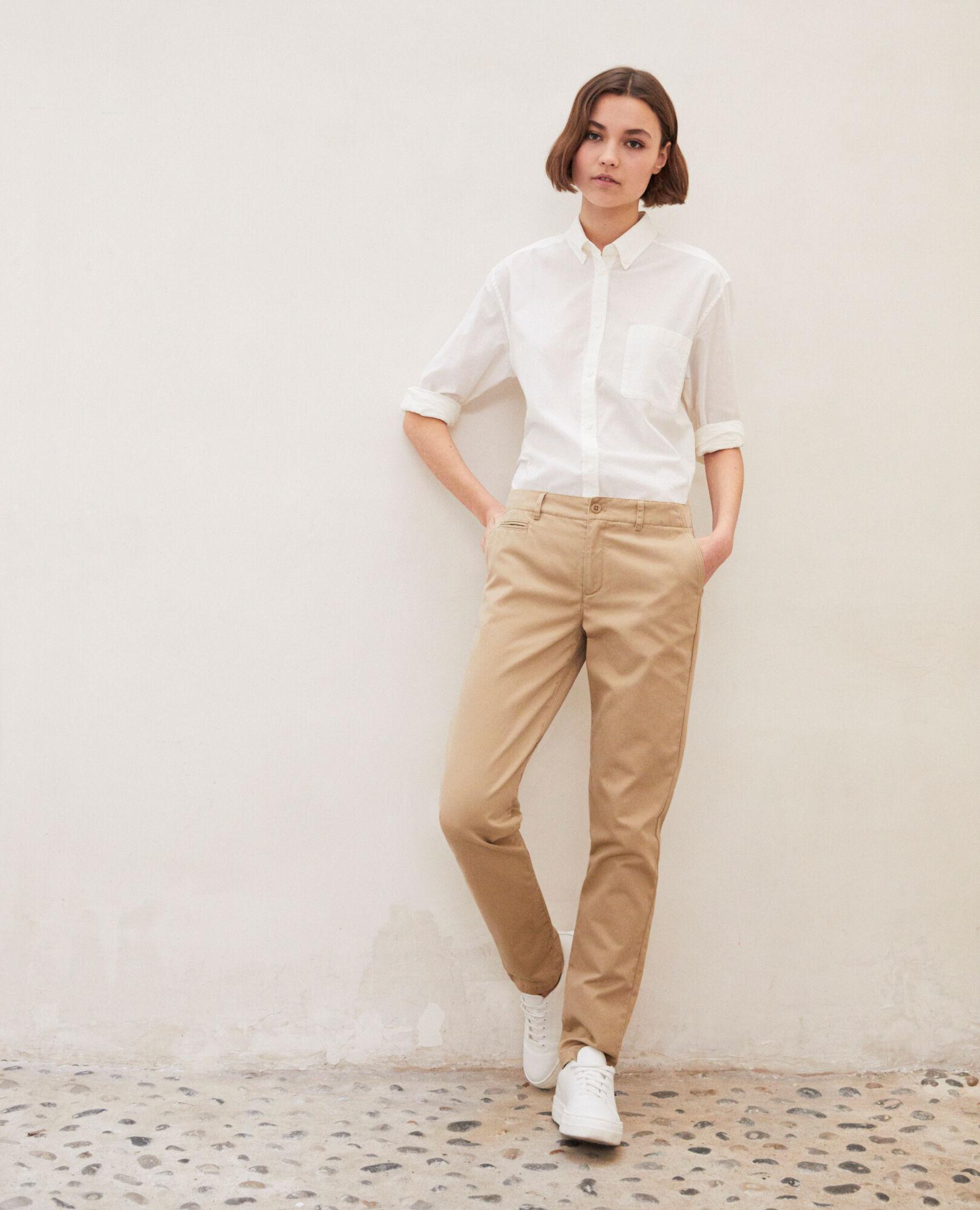 Mode À Comptoir Pantalon Chino Femme amp; Combinaison Cotonniers La Des SqYAp4wY