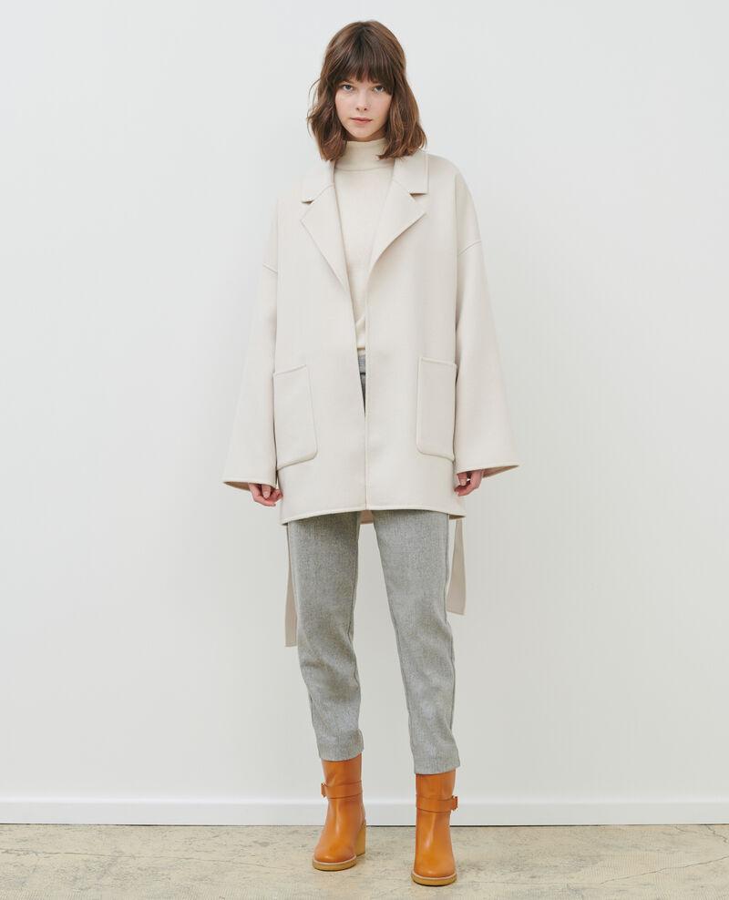 Manteau en laine et cachemire double face Rainy day Pantin