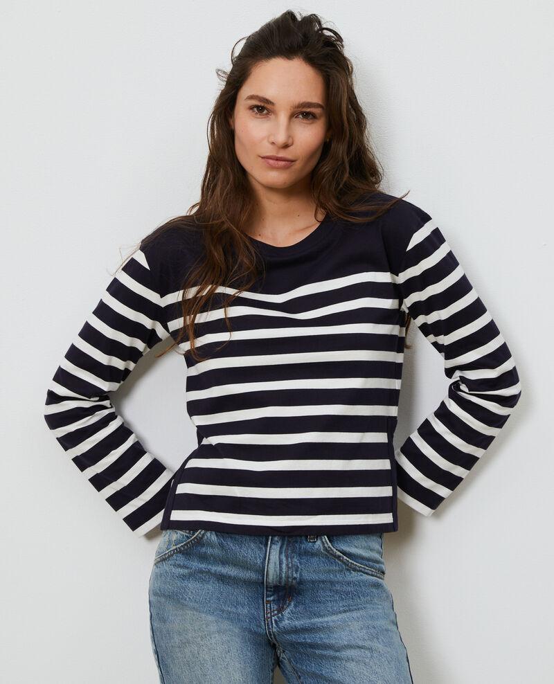 T-shirt marinière manches longues Stp nightsky cloud Martiel