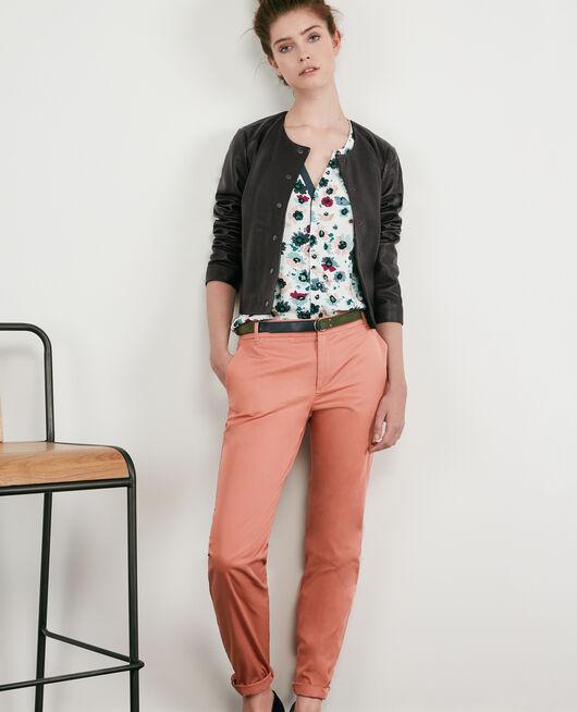Pantalon chino ROSE CLAY