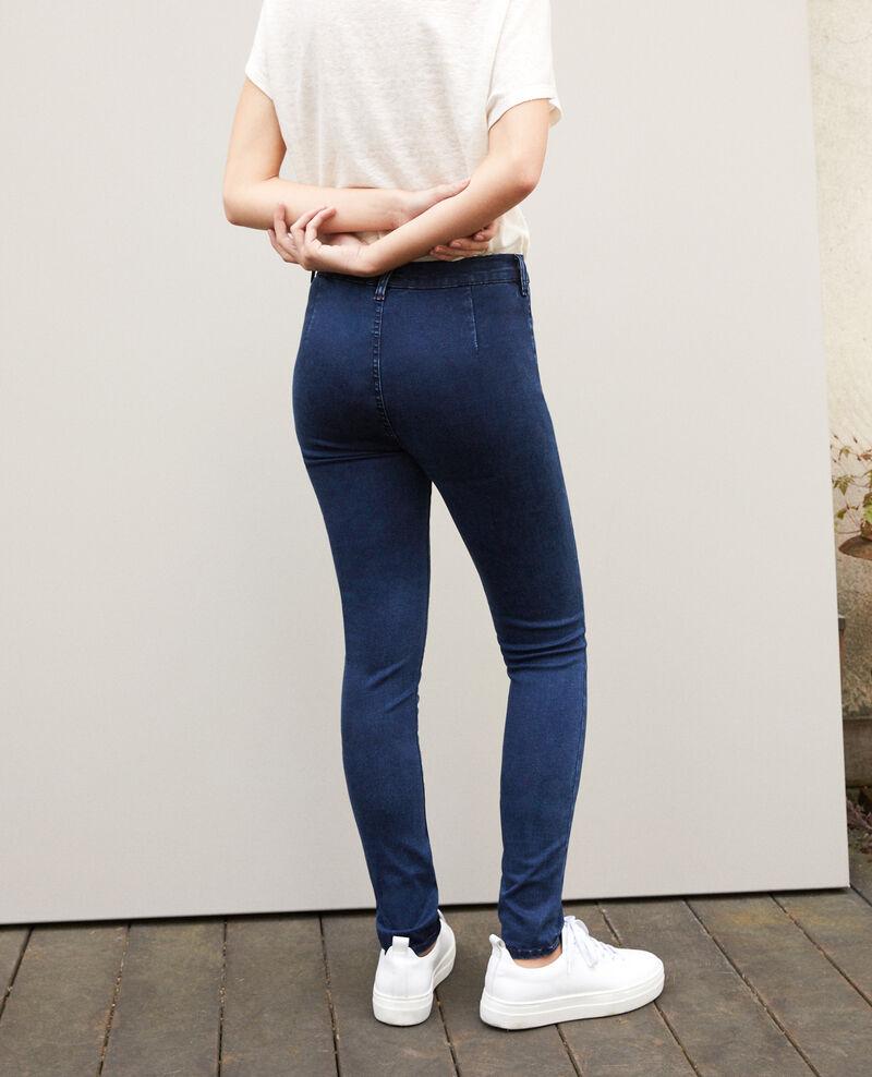 Jean skinny cropped 7/8 Indigo Girondine