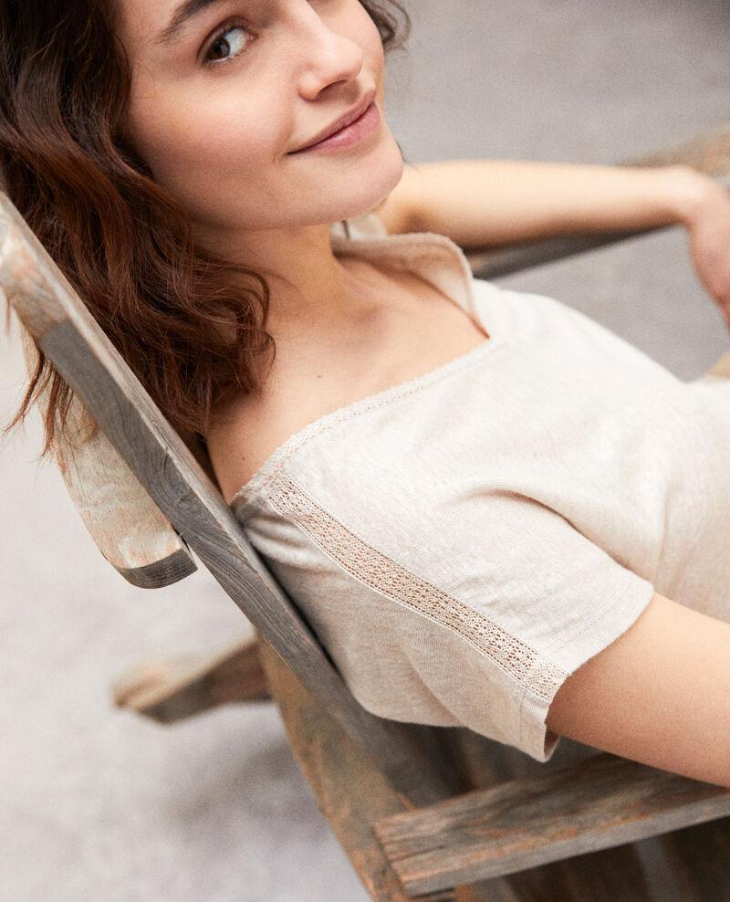 T-shirt en lin Natural linen Itlanta