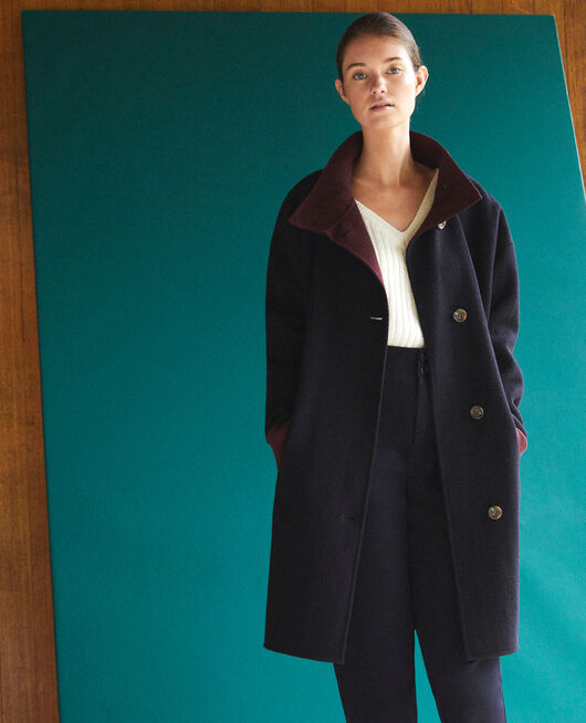 Manteau double face NAVY