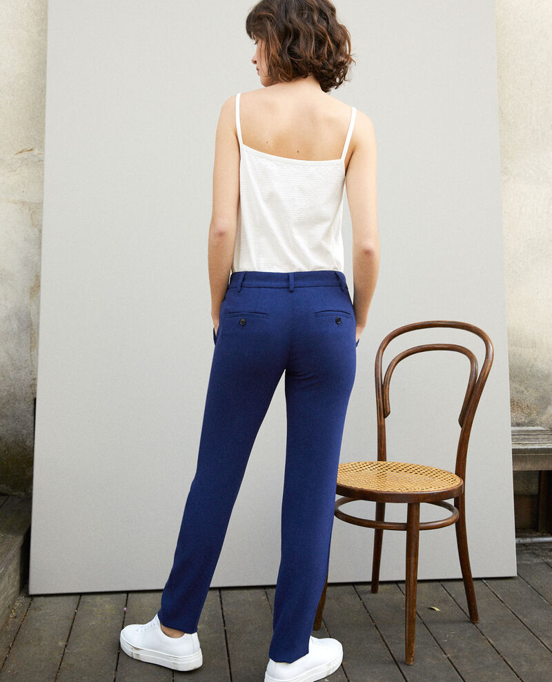 Pantalon de type tailleur Medieval blue Gersende