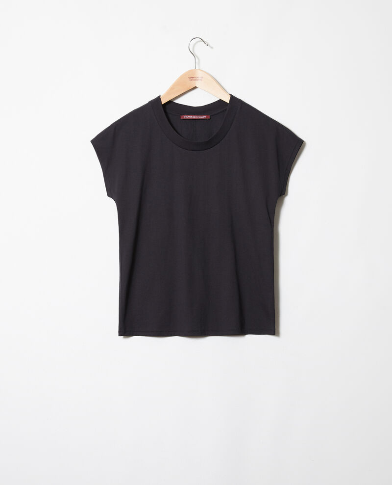 T-shirt intemporel Noir Joya