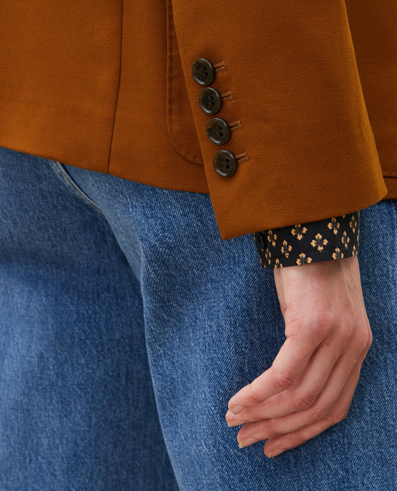 Blazer léger en laine sèche Monks robe Luscade