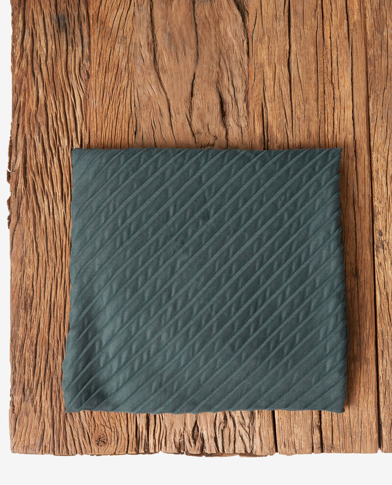 Foulard plissé Canopy Flissage