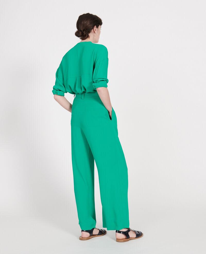 Pantalon à plis Golf green Logance