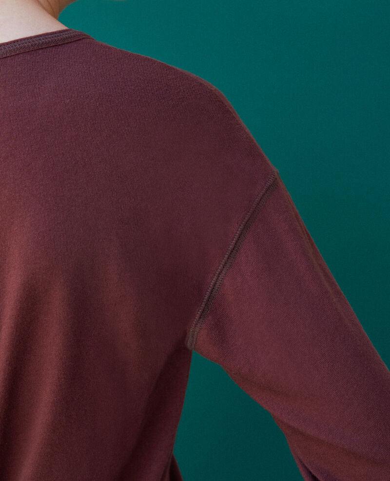 T-shirt en coton Decadente chocolate Gonia