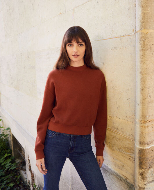 Sweatshirt court BRANDY BROWN