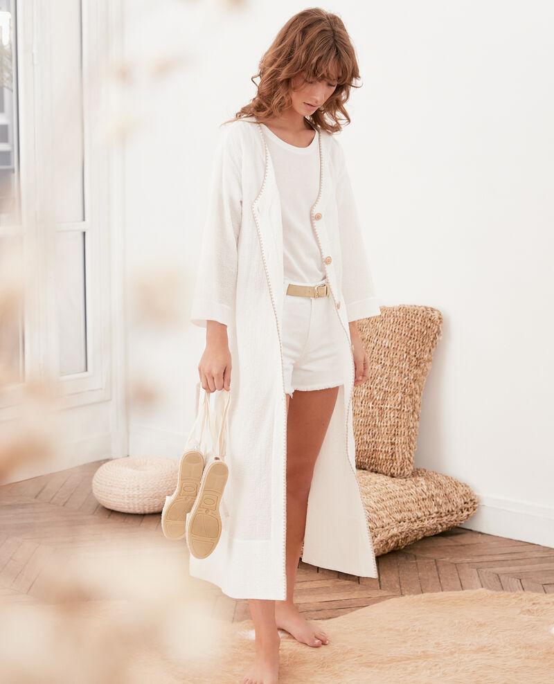 Pièce deux en un : veste ou robe Kaolin Fonnet