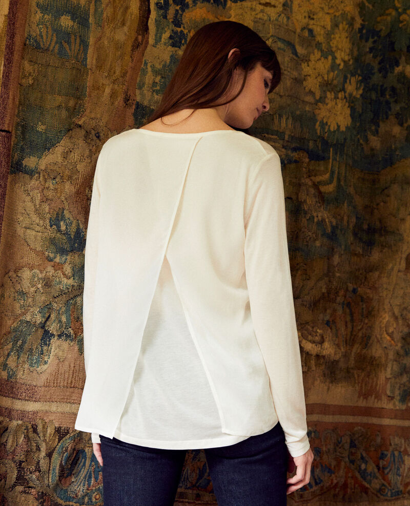 T-shirt bi-matière Off white Janga