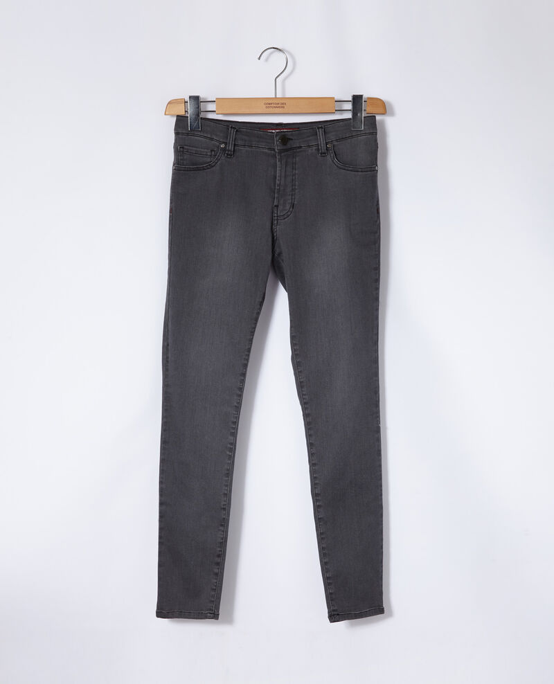 Jean skinny cropped 7/8 Grey wash Griselda