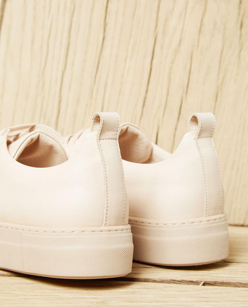 Sneakers à plateforme Pink beige Iginas