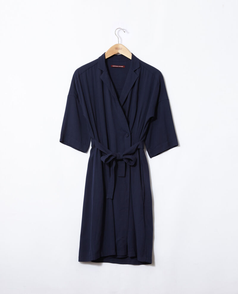 Robe portefeuille Peacoat Guichard