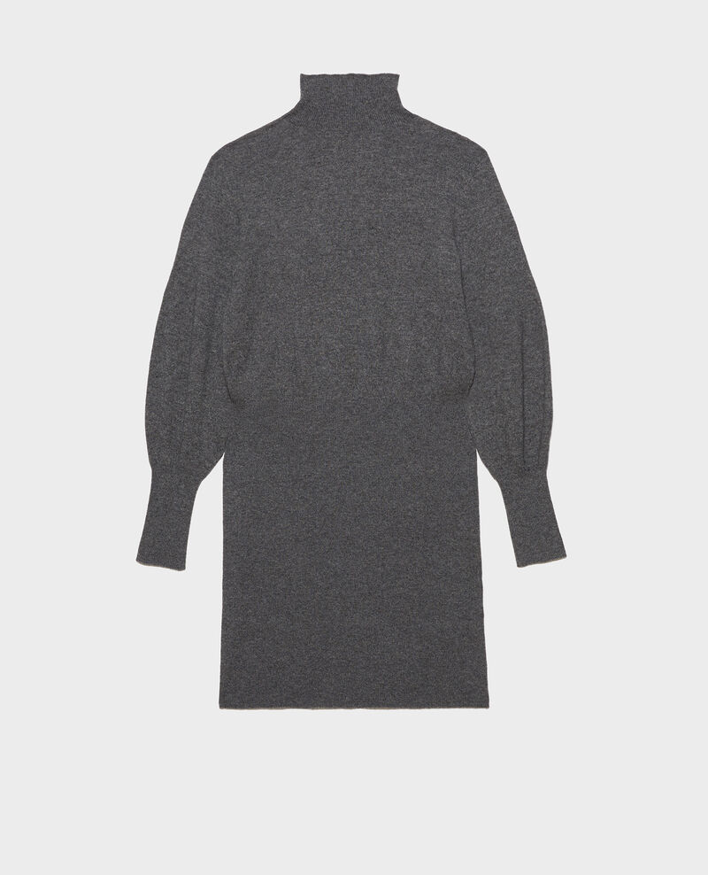 Robe pull en cachemire Medium grey melange Manin