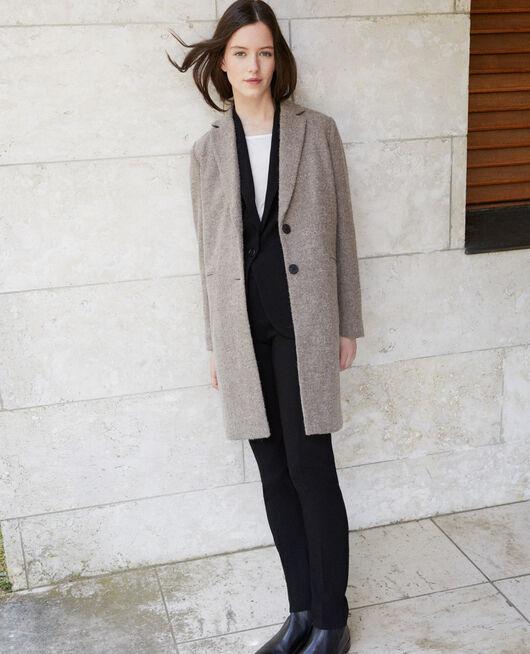 Manteau coupe droite NATURAL