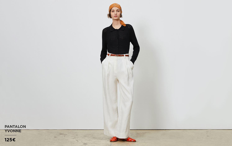 Pantalons en lin