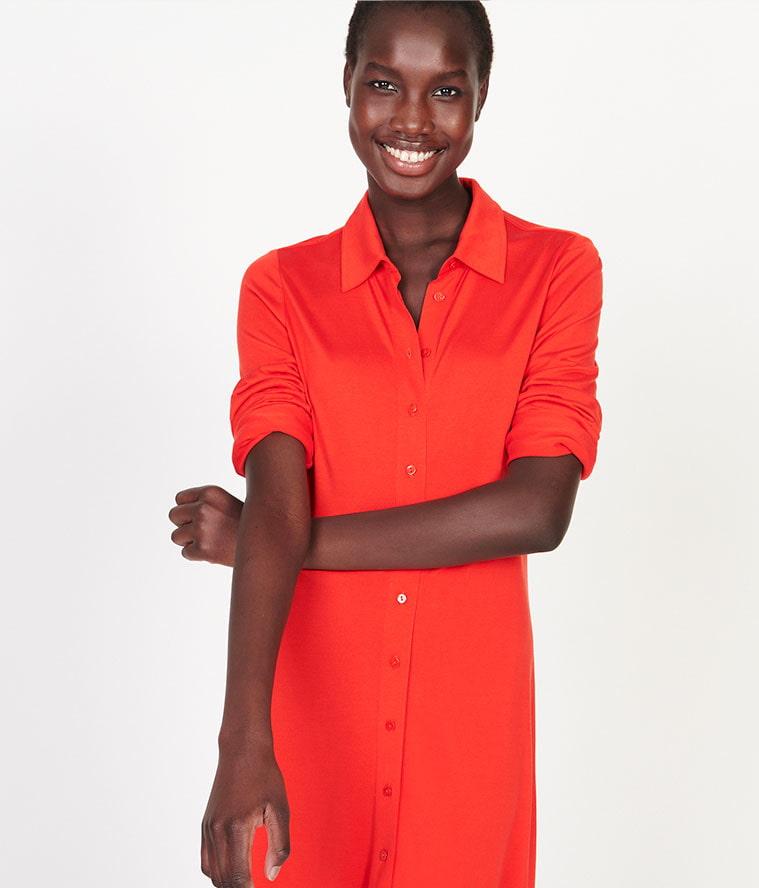 Jersey de soie vêtements femme