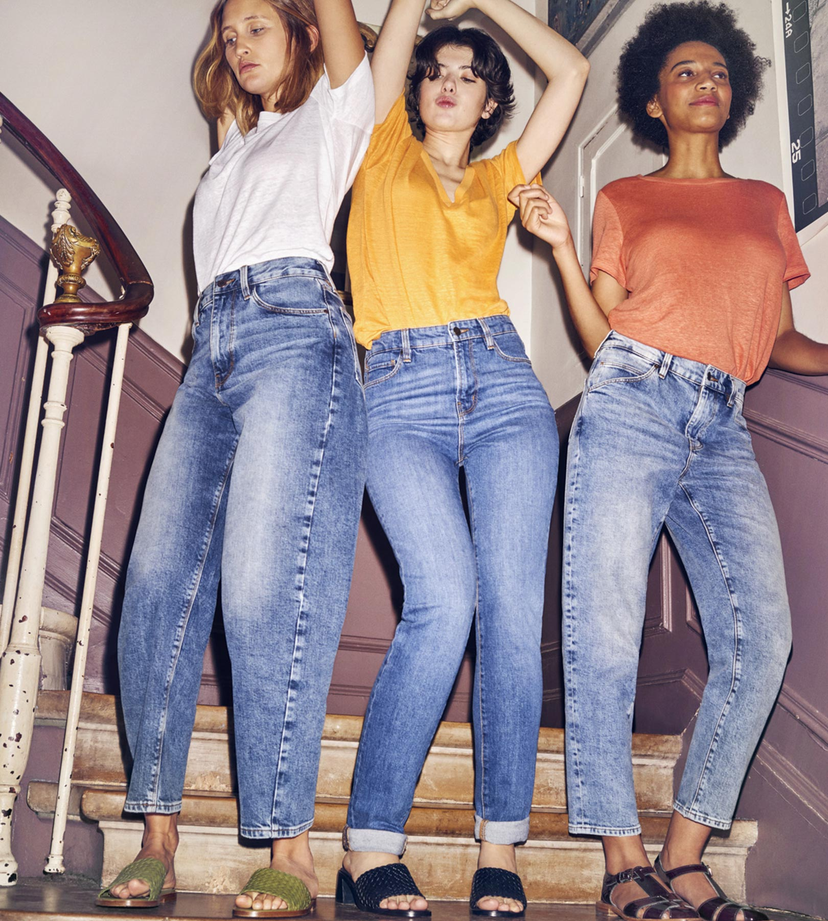 Jeans Comptoir des Cotonniers femme
