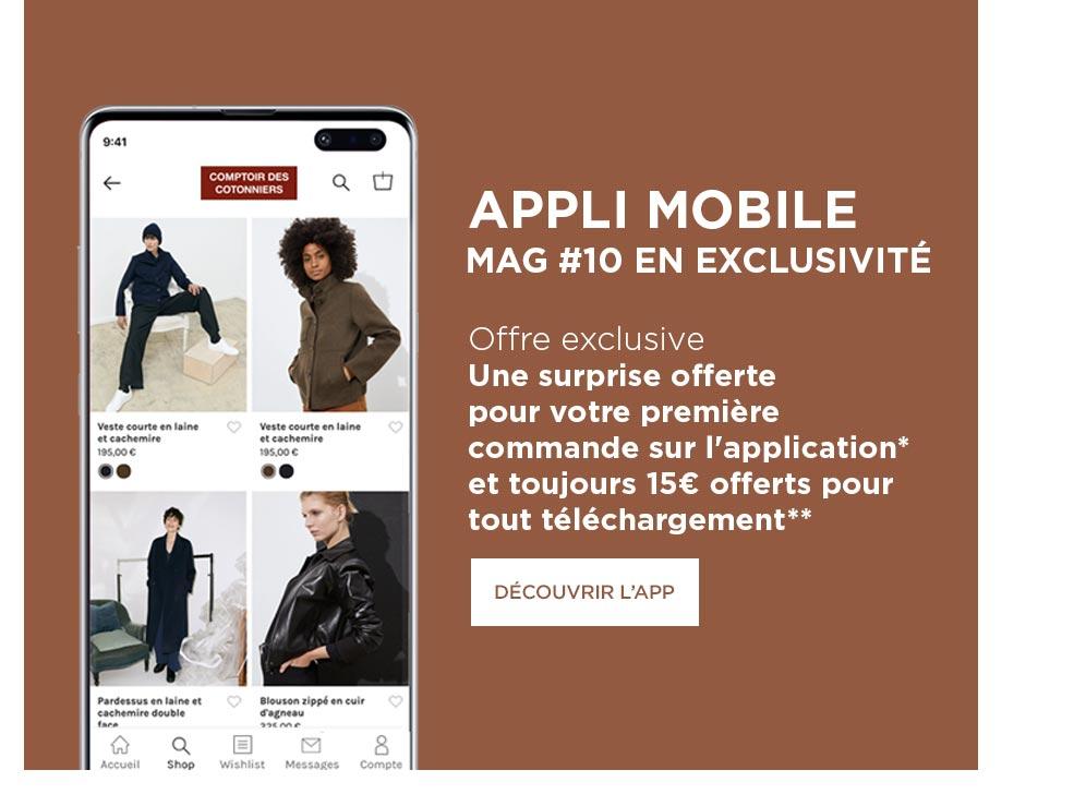 Nouveau ! L'application mobile est enfin là !  - Desktop