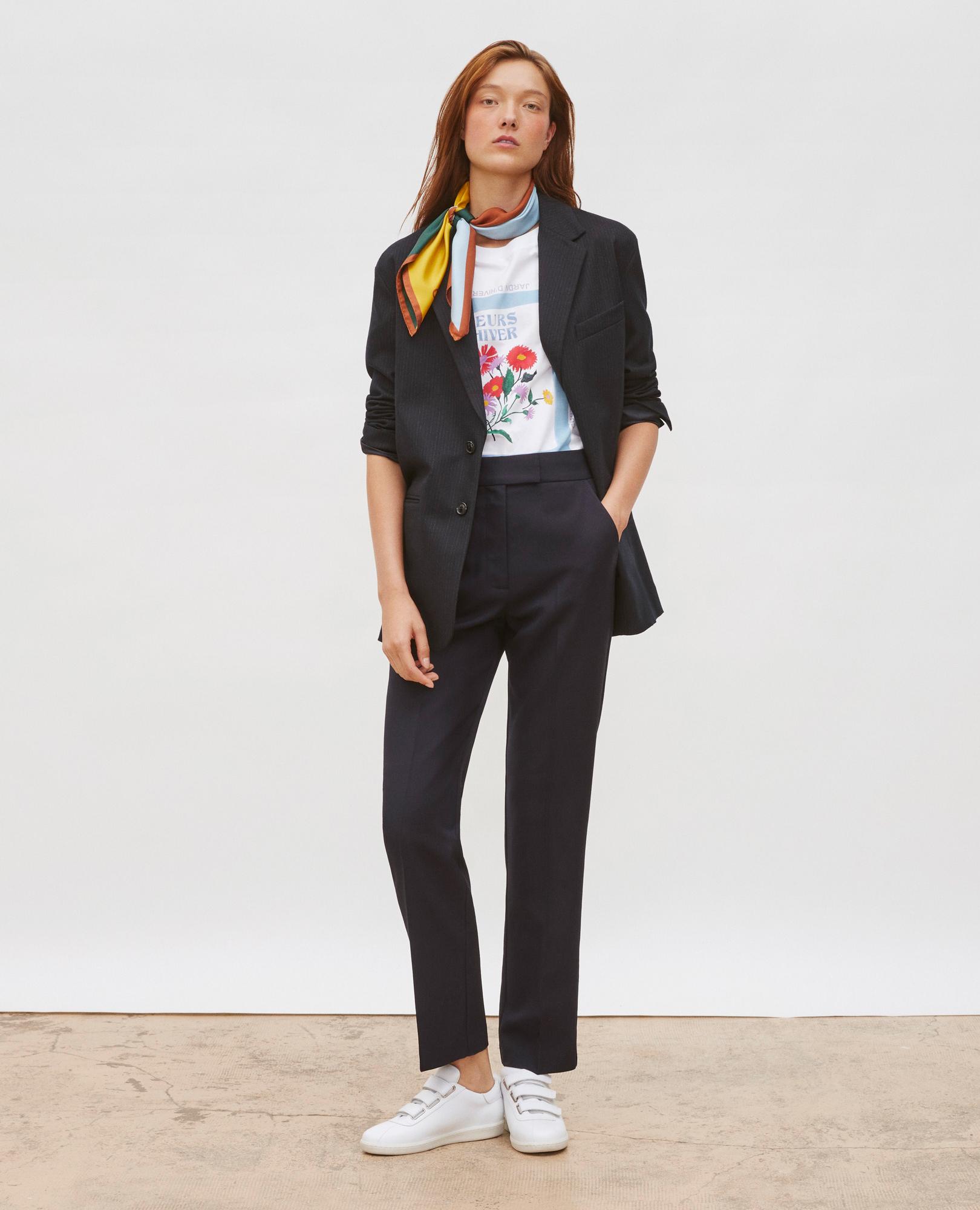 Tailoring   Veste tailleur et pantalon femme   Comptoir des Cotonniers ede969d882de