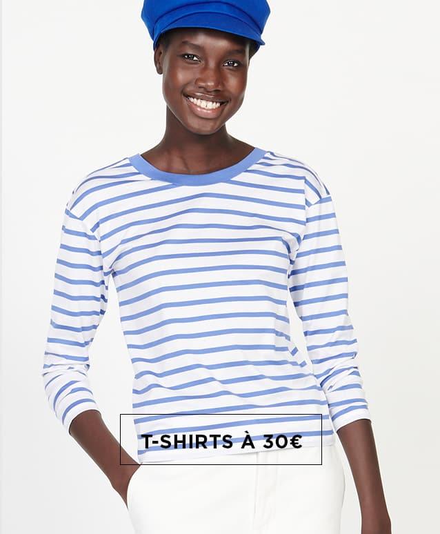 T-shirts à 30€