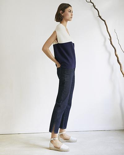 Jeans coupe straight pour femmes