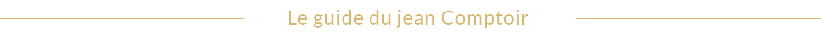 Jean Comptoir des Cotonniers