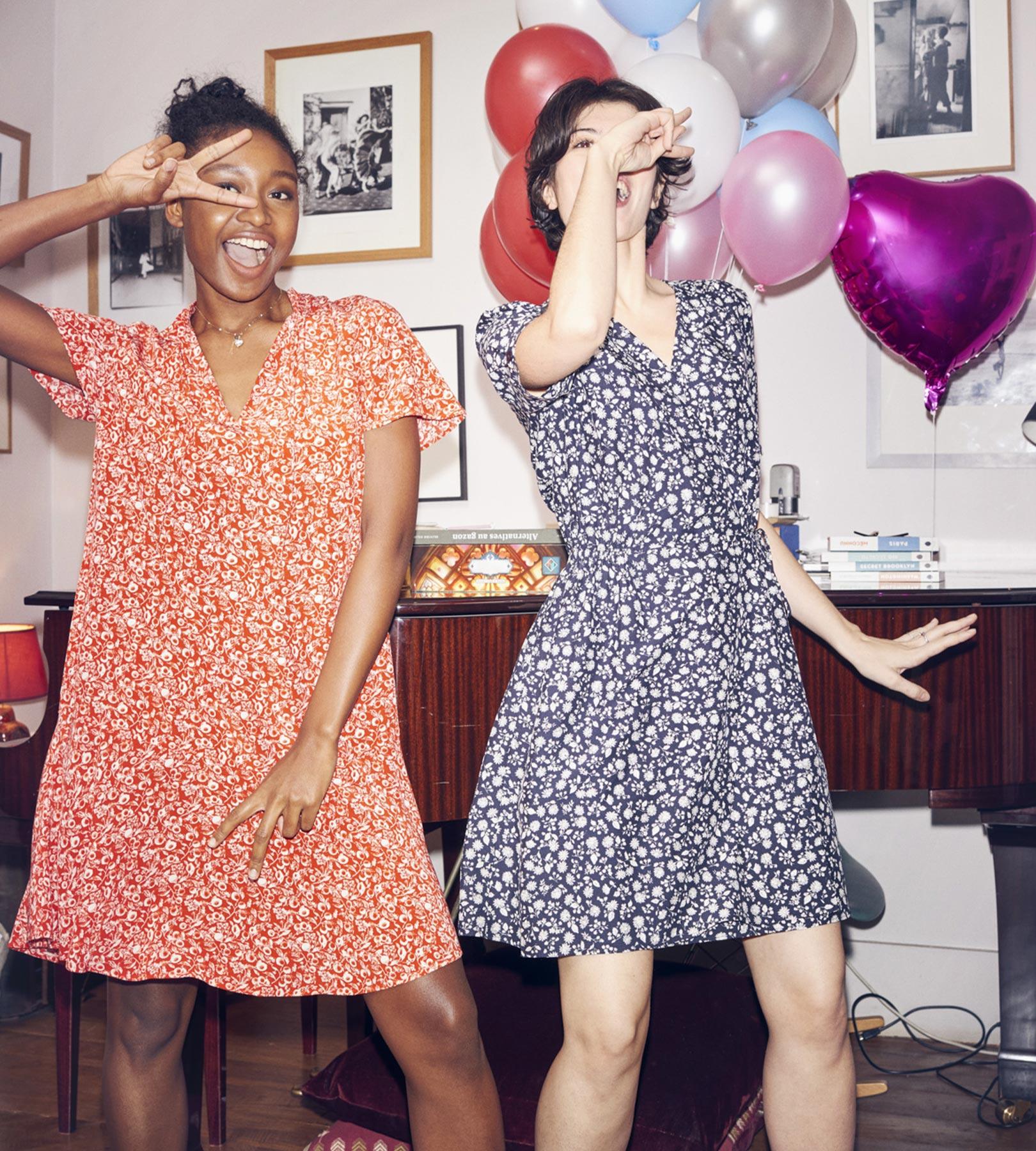 Robes imprimées Comptoir des Cotonniers femme