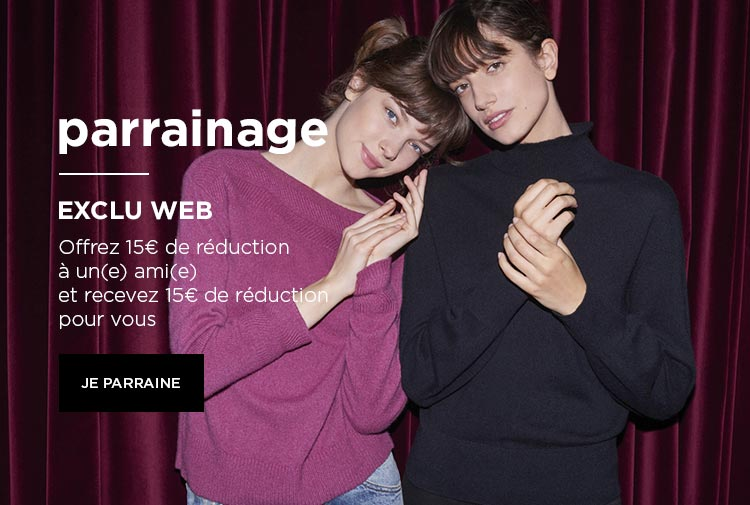 Parrainage - exclu web - Mobile