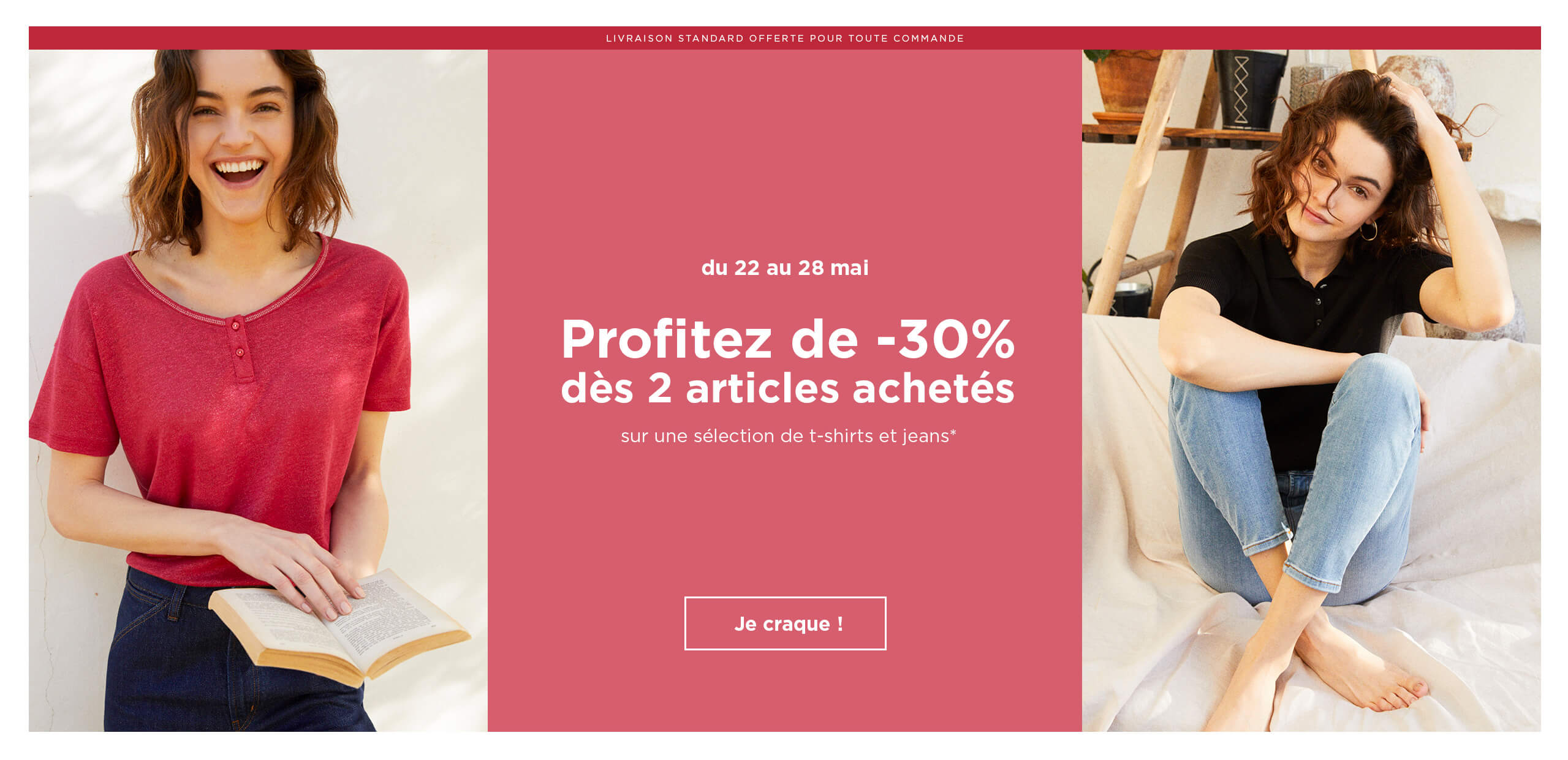 -30% à partir de 2 articles achetés