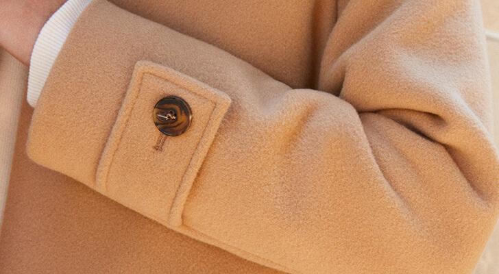 Le manteau en cachemire