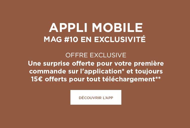 Nouveau ! L'application mobile est enfin là ! - Mobile