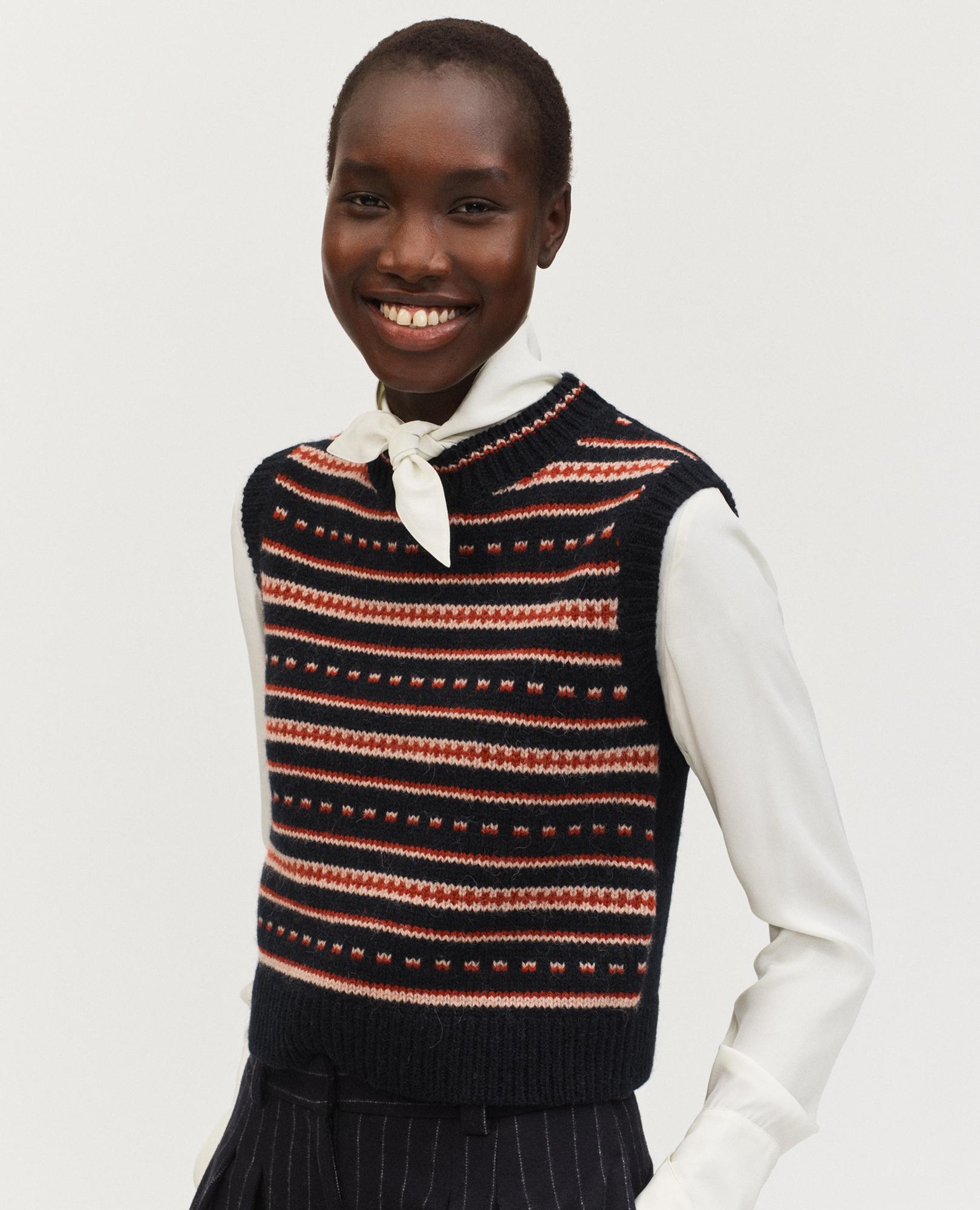 pull en laine d'alpaga pour femme
