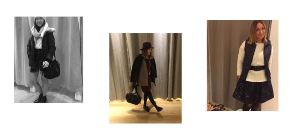 Les looks femmes hiver 2016 des vendeuses Comptoir des Cotonniers