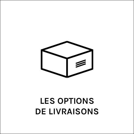 Options de livraison