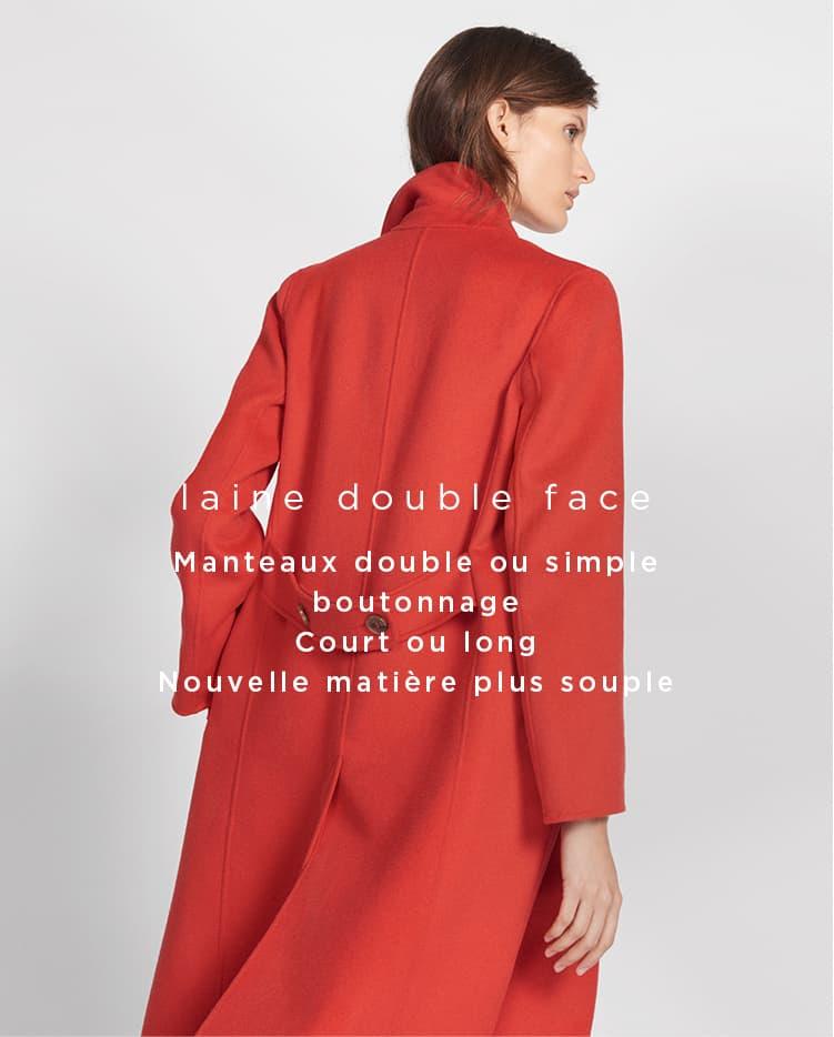 La laine double face