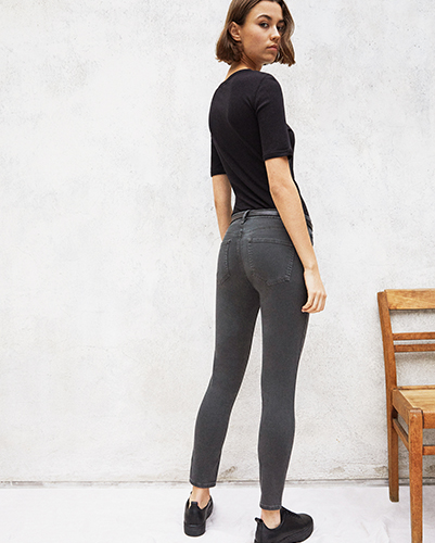 Jeans coupe skinny pour femmes