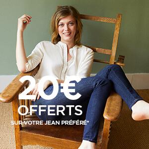 20€ offerts sur mon jean préféré !