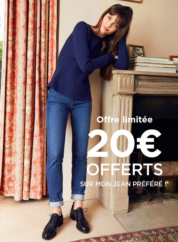20€ offerts sur mon jean préféré