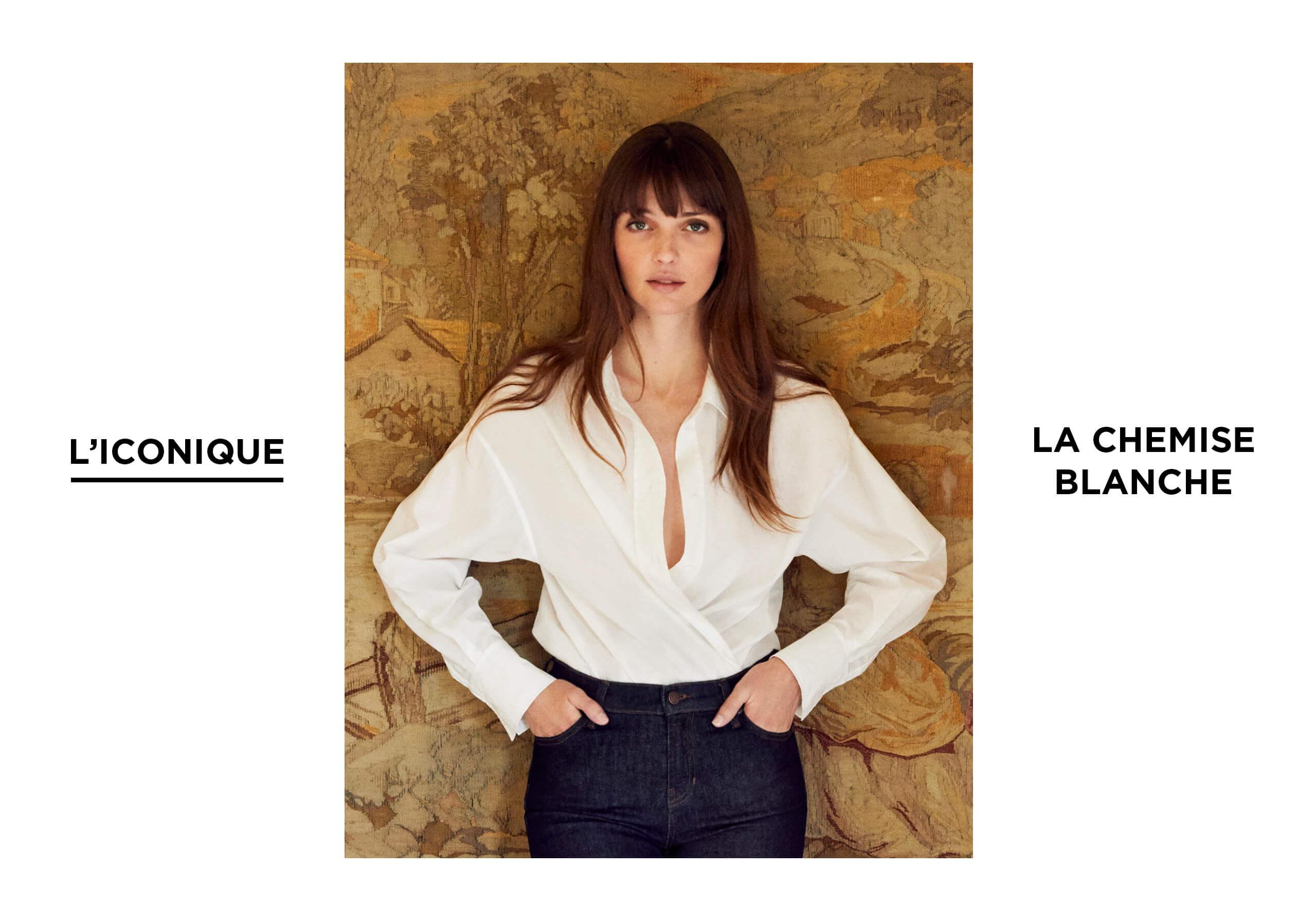 L'iconique - Chemise Blanche